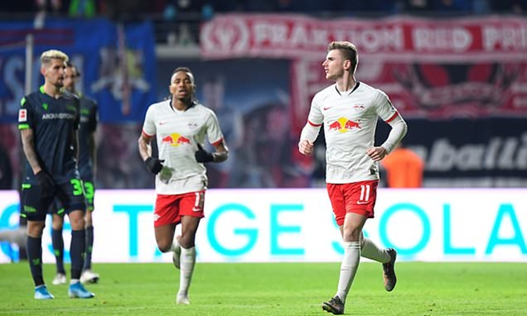 RB Leipzig send Chelsea a message over Timo Werner transfer deal in January - Bóng Đá