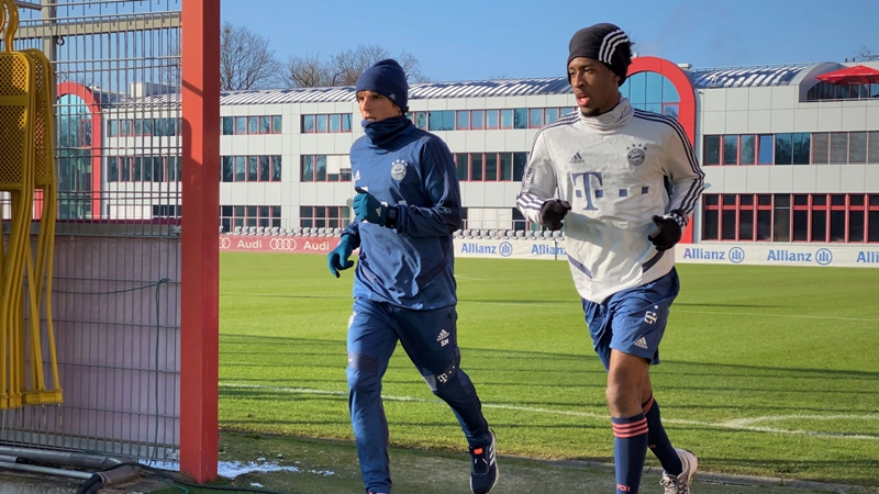 Kingsley Coman is training again! - Bóng Đá