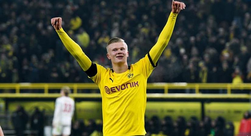 @ErlingHaaland needed only 57 minutes played for his 5th #Bundesliga goal - new Bundesliga record.  - Bóng Đá