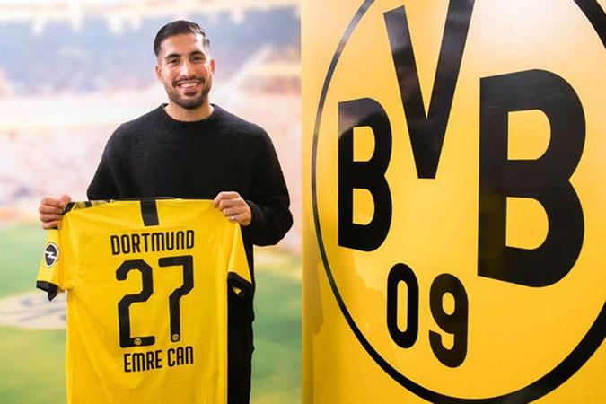 Can đã đến Dortmund.