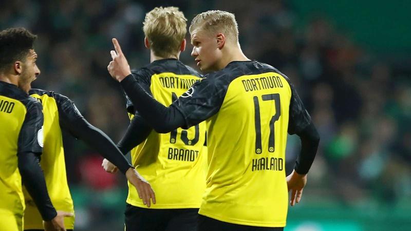 Erling Haaland Scores 8th Goal in 4 Games for Borussia Dortmund - Bóng Đá