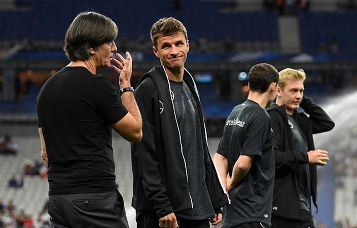 Biến mới trên tuyển Đức, Muller