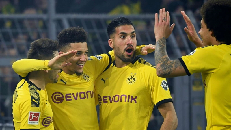 Dortmund equal Bundesliga scoring record with lopsided win over Frankfurt - Bóng Đá