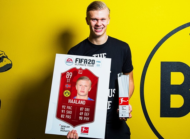 Haaland wins Player of the Month award after an hour on pitch - Bóng Đá