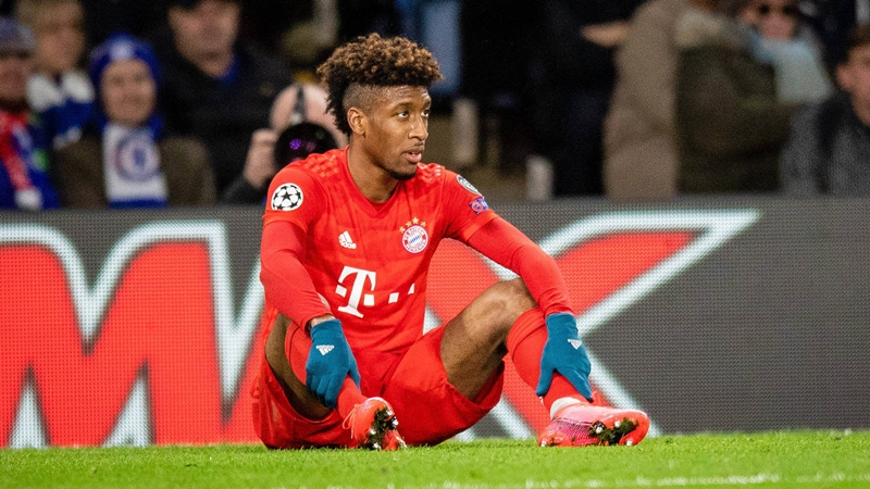 Flick confirms that Kingsley Coman has just suffered a slight strain and will take a break of about five days. - Bóng Đá