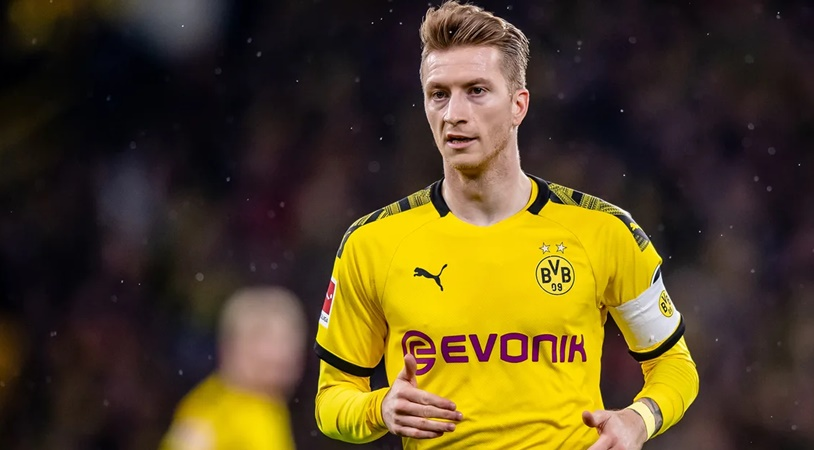 Borussia Dortmund captain Marco Reus expects to return to training in