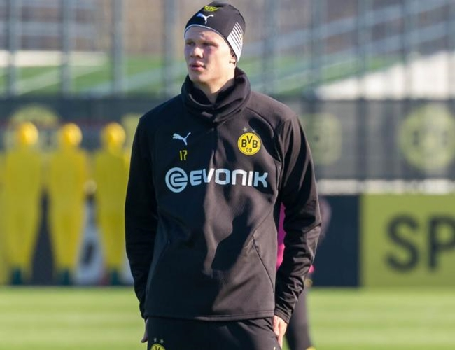 Erling Haaland a doubt for Dortmund's home clash with Freiburg - Bóng Đá
