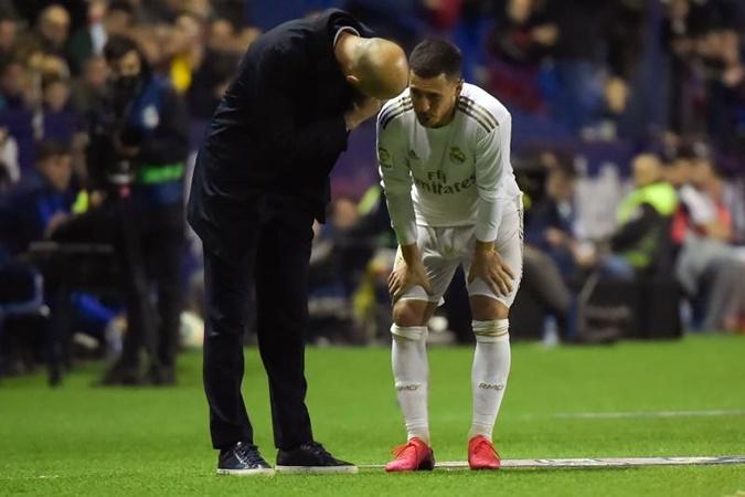 Zinedine Zidane leaves door open for Eden Hazard return this season - Bó.ng Đá.