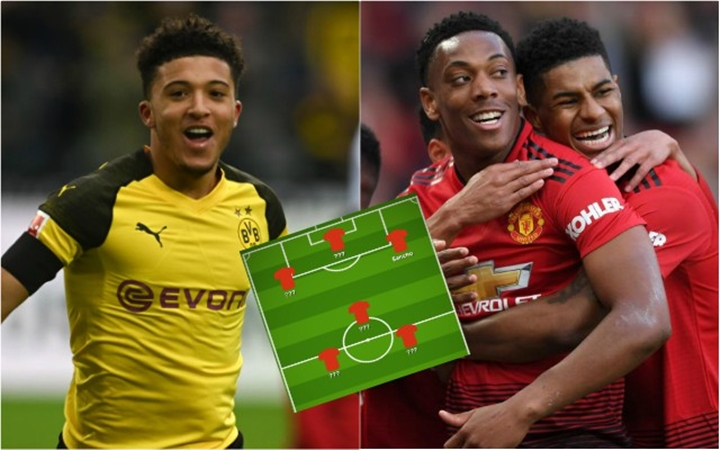 Rio Ferdinand names front three he would love Man Utd to have (Sancho-Rashford- Martial) - Bóng Đá