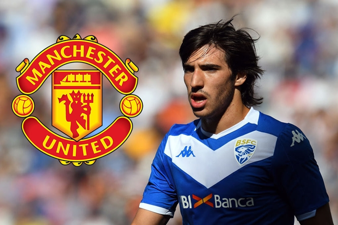 Man Utd have already moved to sign £54million midfielder (Sandro Tonali)i - Bóng Đá