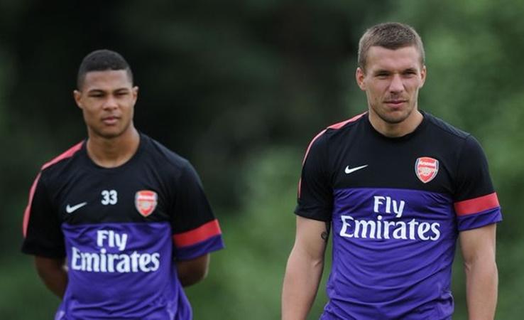 Serge Gnabry's failed Arsenal spell explained by former team-mate Lukas Podolski - Bóng Đá
