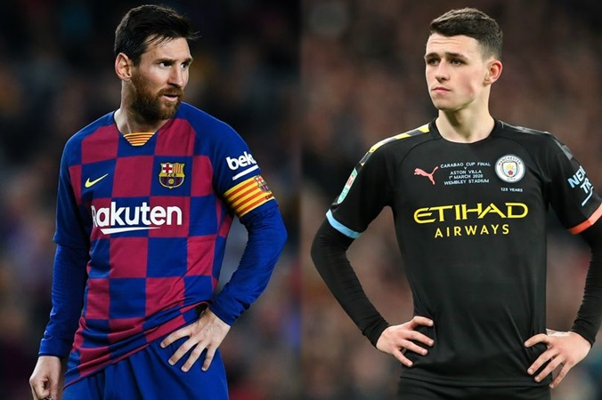 Lionel Messi makes prediction about Man City youngster Phil Foden - Bóng Đá