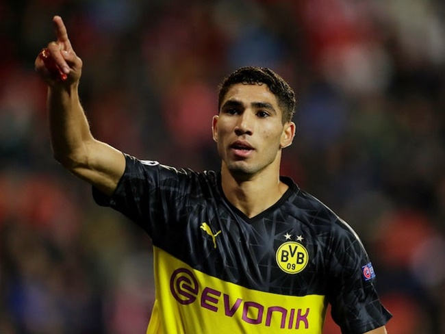 Agent: 'Achraf Hakimi future yet to be decided' - Bóng Đá