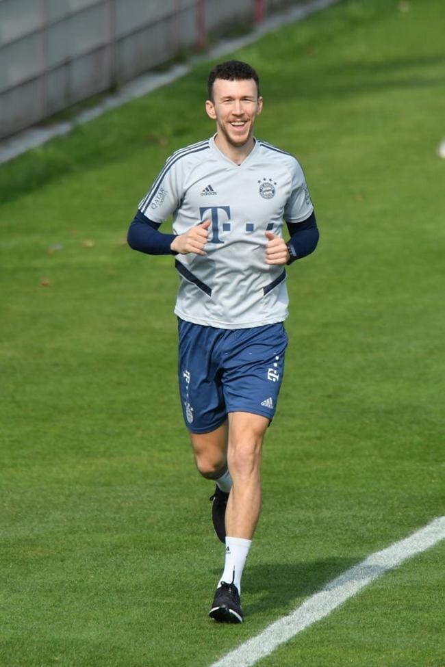 Ivan Perišić resumed running training on the pitch - Bóng Đá
