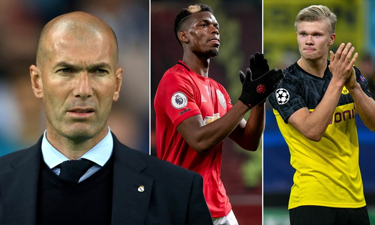 Real Madrid 'to target Paul Pogba and Erling Braut Haaland this summer' - Bóng Đá