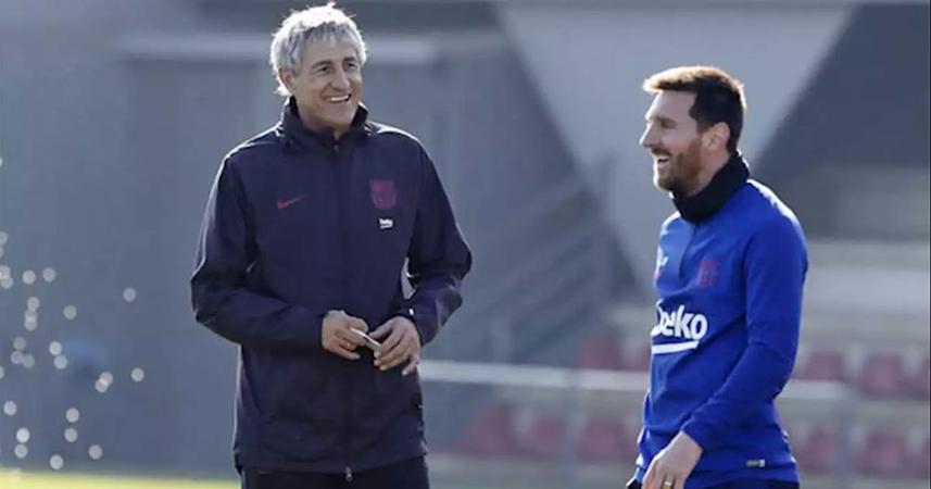 Lionel Messi Has One Reason To Leave Barcelona, Quique Setién Says - Bóng Đá