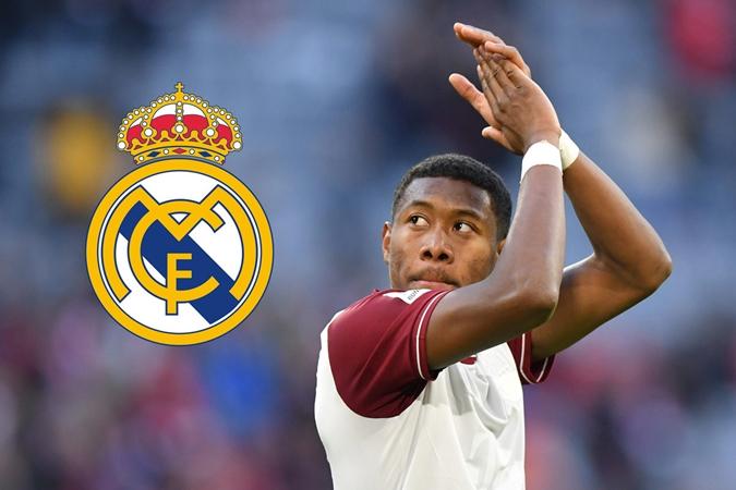 David Alaba is currently not a target for Real Madrid, - Bóng Đá