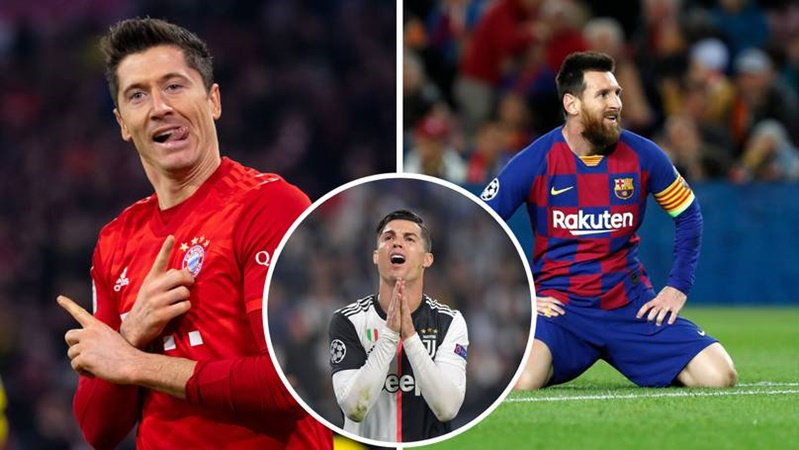 Robert Lewandowski makes history as he joins Cristiano Ronaldo and Lionel Messi with this impressive stat - Bóng Đá