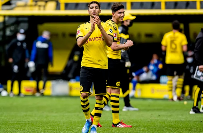 Achraf Hakimi is the best right-back in the world, says agent - Bóng Đá