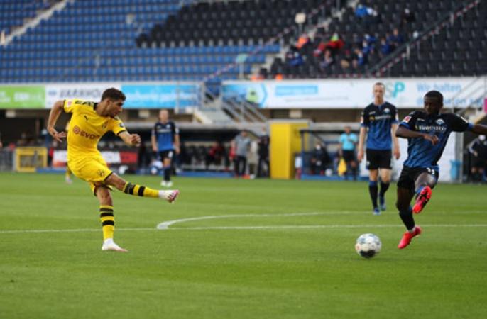 """Sancho thay Haaland sắm vai """"vì sao tinh tú"""", Dortmund tạo cuộc thảm sát trên sân khách - Bóng Đá"""