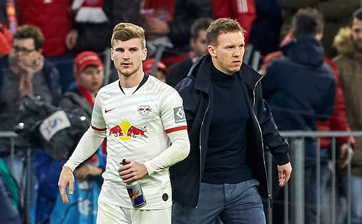 Julian Nagelsmann concedes defeat in battle to convince Werner to stay - Bóng Đá