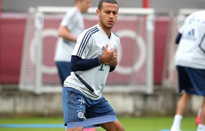 Thiago resumes full team training, Lucas Hernandez trains individually. - Bóng Đá
