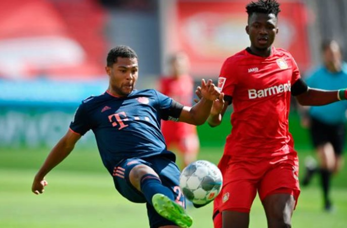 Ảnh Bayern đánh bại Leverkusen - Bóng Đá