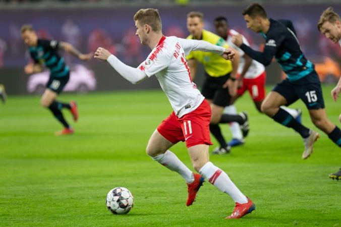 RB Leipzig have had no contact with Chelsea over Timo Werner, claims club chief - Bóng Đá