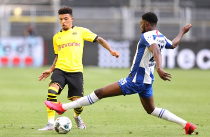 Ảnh sau trận Dortmund Hertha Berlin - Bóng Đá