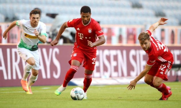Ảnh sau trận Bayern Gladbach - Bóng Đá
