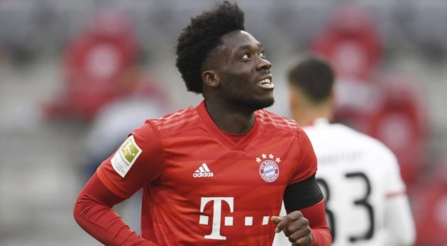 Alphonso Davies has been voted Bundesliga Rookie of the season. - Bóng Đá