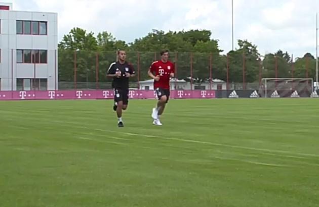 Sân tập Bayern đón
