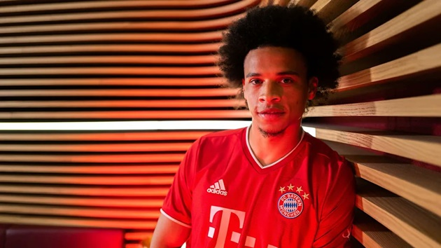 Leroy Sane's presentation pics at Bayern Munich - Bóng Đá