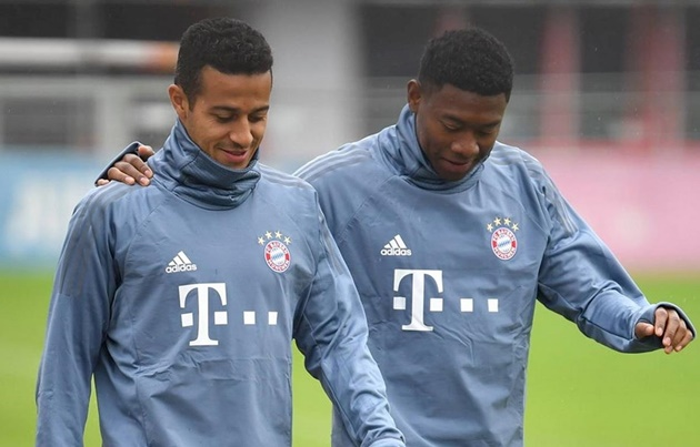 How big would the loss of Thiago and Alaba - Bóng Đá