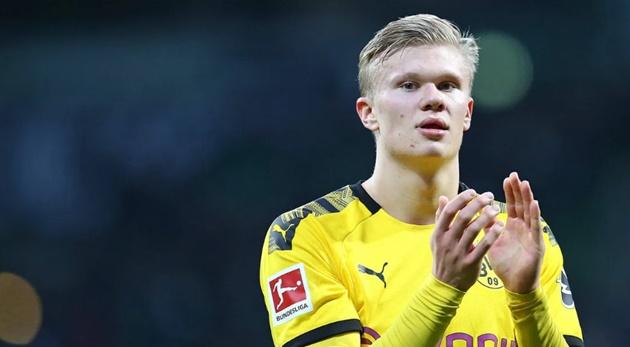 Erling Haaland named Borussia Dortmund's new No.9 - Bóng Đá