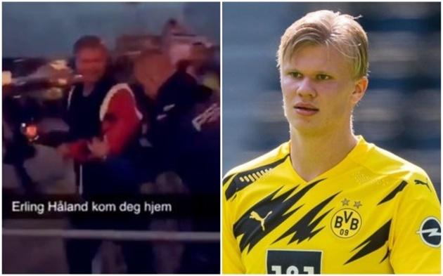 Erling Haaland's father responds after Dortmund striker is thrown out of a nightclub  - Bóng Đá