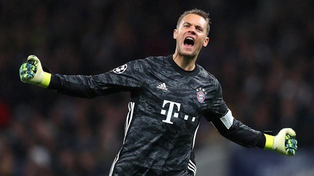 Manuel Neuer has been voted best goalkeeper in the Bundesliga - Bóng Đá