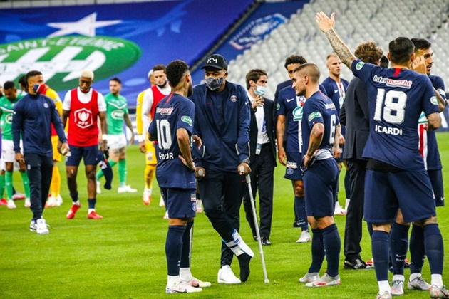 PSG trả giá đắt vì Mbappe sau khi giành cúp quốc gia