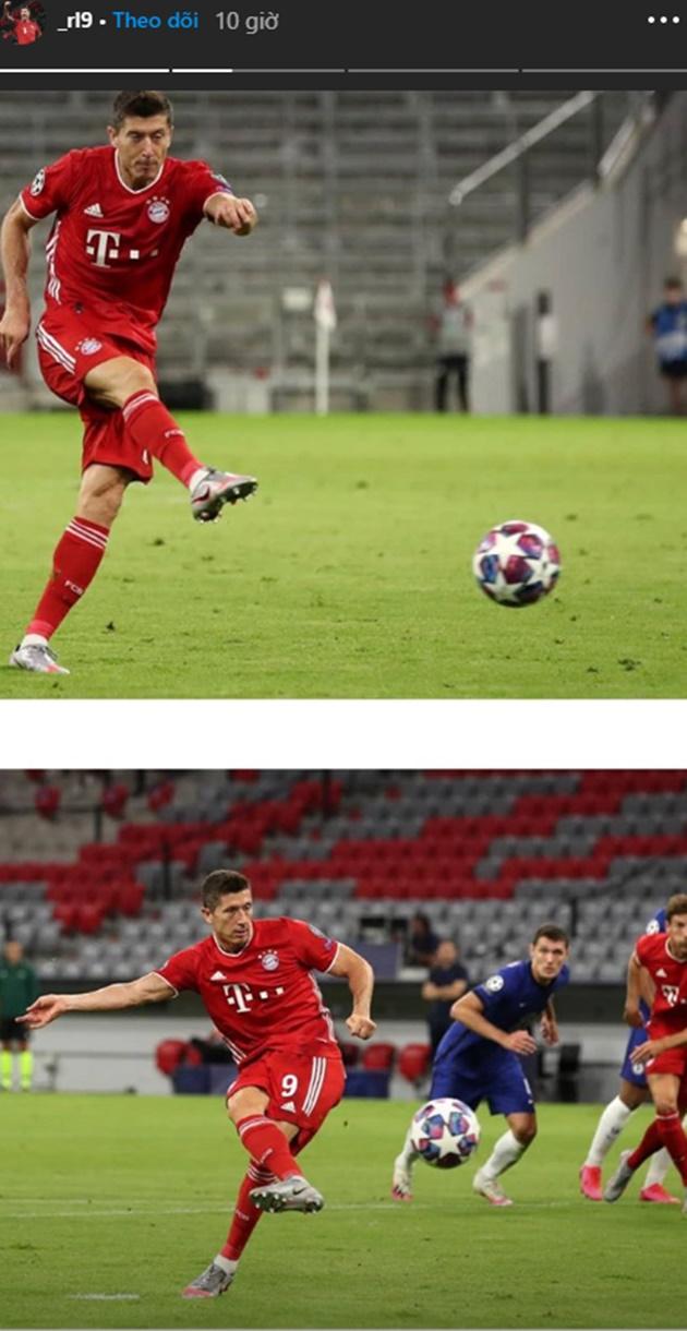 Động thái đầu tiên của Lewandowski sau khi khuất phục Chelsea - Bóng Đá