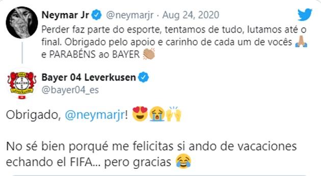 NHM phì cười vì Neymar nhầm lẫn Bayern Munich với Bayer Leverkusen - Bóng Đá