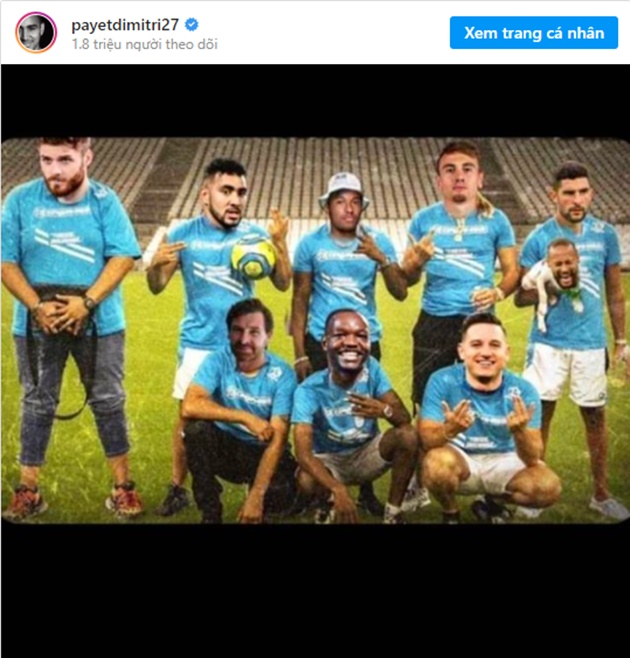 Payet aims dig at Neymar with picture of PSG star's head on a dog - Bóng Đá