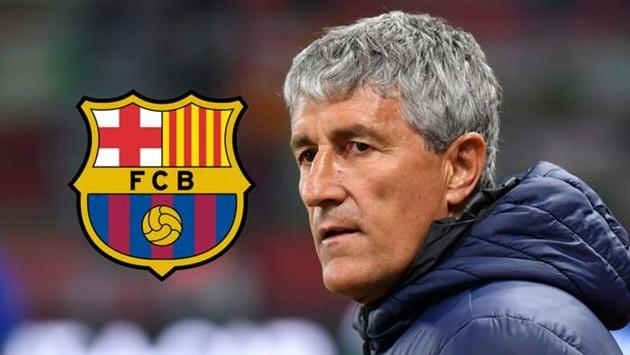 Setien takes legal action against Barcelona over contract dispute - Bóng Đá