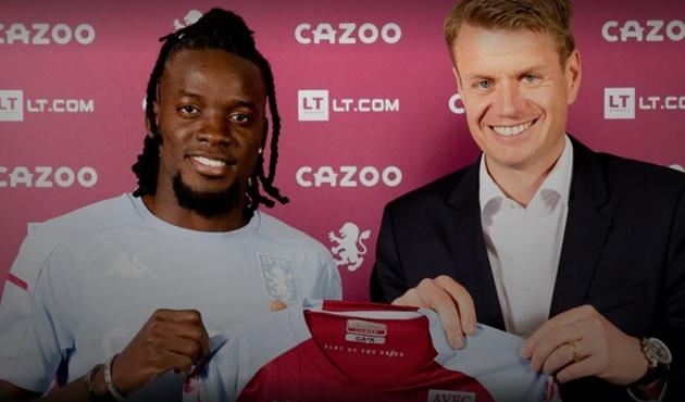 OFFICIAL: Villa announce Traore signing - Bóng Đá