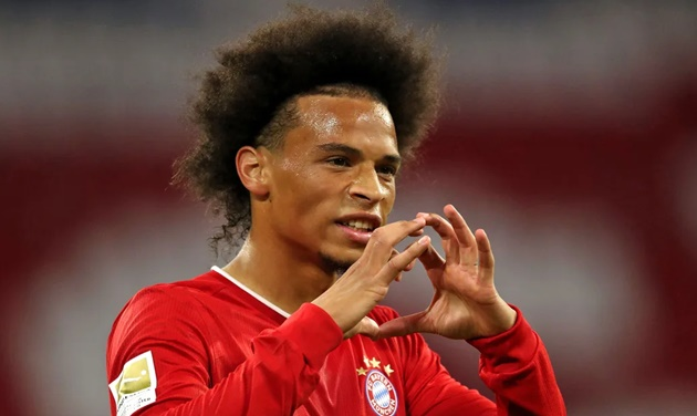 Bayern Munich's Leroy Sane: