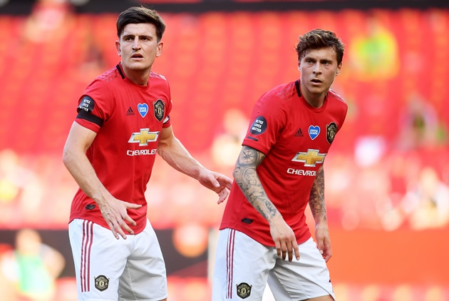 Ian Wright urges Man Utd to replace Lindelof, Maguire - Bóng Đá