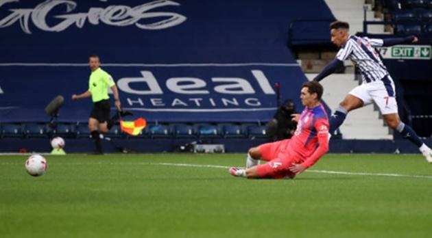 TRỰC TIẾP West Brom 3 - 0 Chelsea: West Brom nhân đôi cách biệt - Bóng Đá