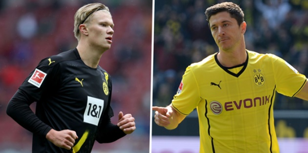 Bigger expectations on Haaland than there were on Lewandowski at Dortmund - Bóng Đá