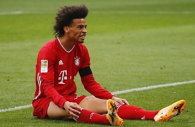 Bayern Munich's Leroy Sane suffers new knee injury blow as boss Hansi Flick confirms former Manchester City star will be sidelined for two weeks - Bóng Đá