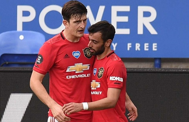 Bruno Fernandes và Maguire đem hung tin đến cho Man Utd - Bóng Đá