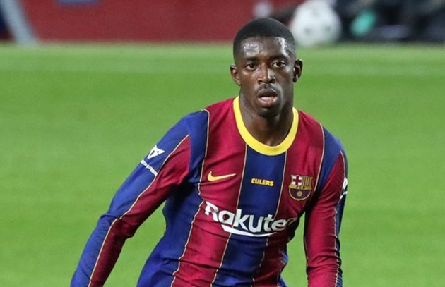 Ousmane Dembele 'trains alone for two days' after Man Utd transfer falls through - Bóng Đá